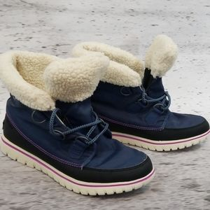 SOREL Sherpa Lined Boot Blue 11
